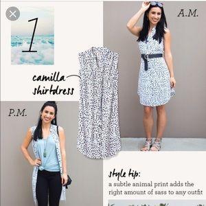 """Cabi """"Camilla"""" Shirtdress, Like New, Size XS"""